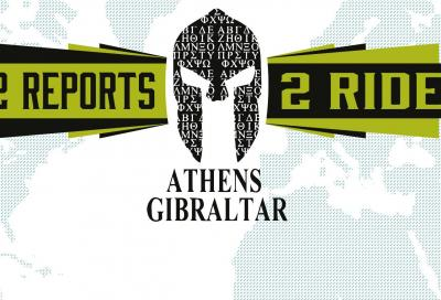 Carica un report, vinci la partecipazione ad Athens-Gibraltar