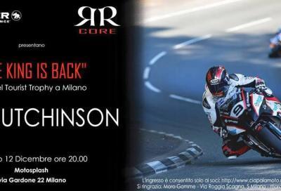 Incontra una leggenda del TT: Ian Hutchinson a Milano da Ciapa La Moto
