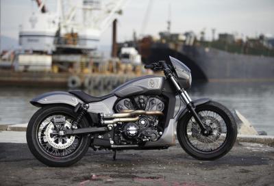 Victory Combustion, il concept di una nuova muscle bike