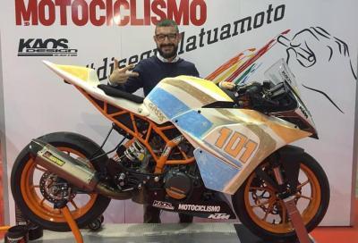 Giorgio Castelletti da designer a pilota con Motociclismo e KTM