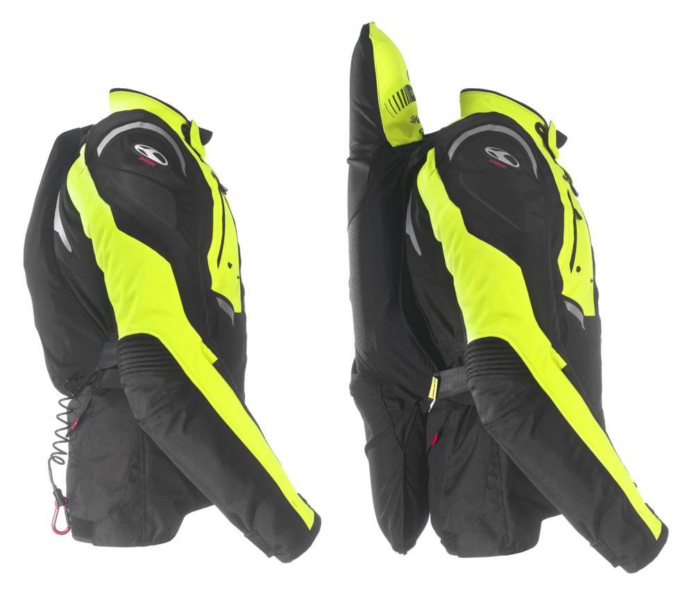 Predisposizione per protezione schiena (in alternativa all utilizzo dell  airbag). L airbag è omologato CE EN 1621-4 Livello 2 ... e43c3b8103f4