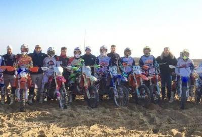 Team Italia Enduro: allenamenti sulla sabbia per preparare la stagione 2016