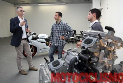 """""""Ducati 959: motore simile a quello di Bayliss campione SBK 2001. Anzi, migliore"""""""