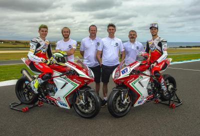 Mondiale Supersport 2016: almeno sette MV Agusta in gara