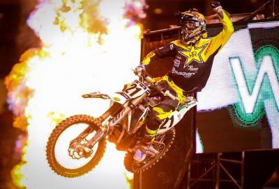 AMA Supercross 2016: Anderson-Husqvarna show ad Anaheim 1