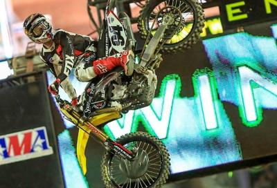 AMA Supercross 2016, Phoenix: Roczen batte Dungey, Craig batte Webb