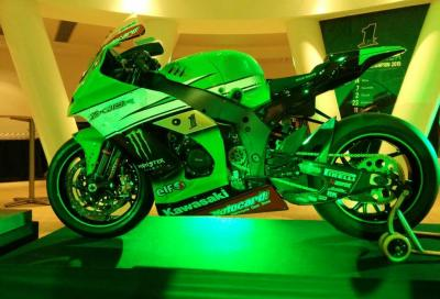 SBK 2016: il Kawasaki Racing Team si presenta in diretta