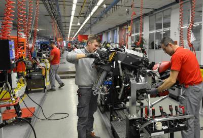 """Ducati certificata """"Top Employers Italia"""" per la seconda volta"""
