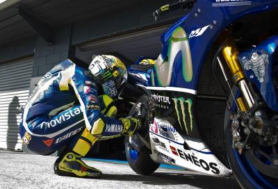 """Rossi: """"Credo che userò la moto più simile a quella del 2015"""""""