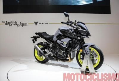 Yamaha: svelati i dati tecnici e il prezzo della nuova MT-10