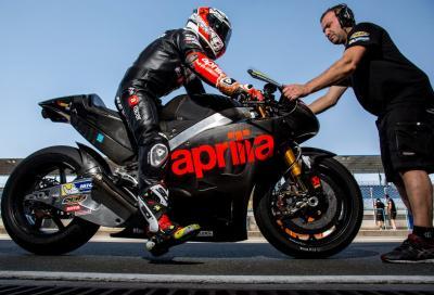 Aprilia MotoGP RS-GP 2016: foto e dichiarazioni dopo il test a Losail