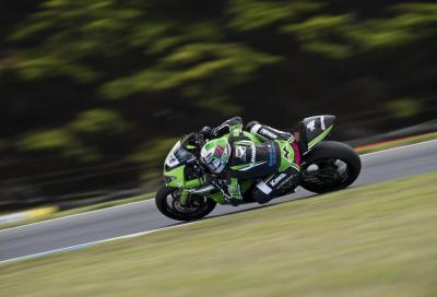 WSSP 2016: le Kawasaki dominano i test a Phillip Island