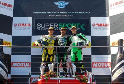 In Australia gara no per Sofuoglu e Cluzel, Krummenacher vince su Caricasulo e West