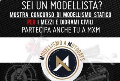 Contest di modellismo a Motodays 2016