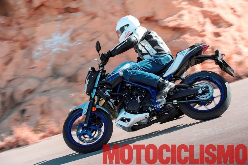 yamaha mt 03 il test di motociclismo motociclismo. Black Bedroom Furniture Sets. Home Design Ideas
