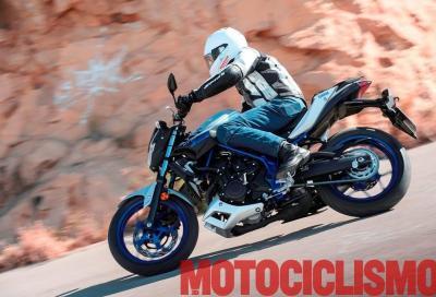 Test della Yamaha MT-03: facile, divertente, per tutti