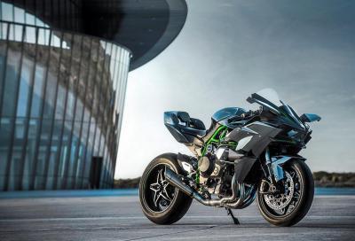 Kawasaki a Motodays con la gamma 2016 e la Ninja H2R