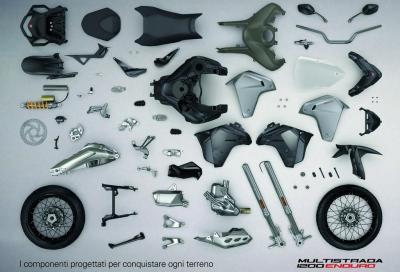 Ducati Multistrada 1200 Enduro: animo avventuroso