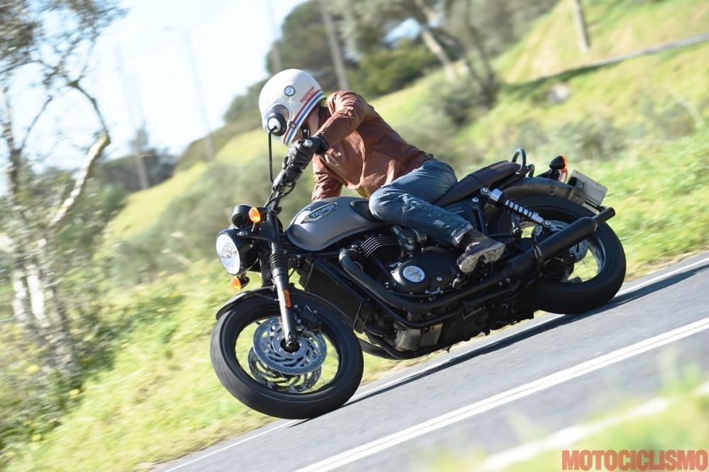 Nuova Triumph Bonneville T120 Il Test Di Motociclismo Motociclismo