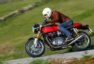 Nuova Triumph Thruxton R: la più moderna incarnazione delle café racer