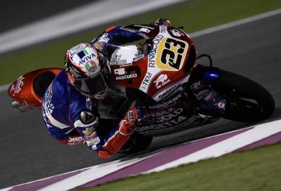 Test Qatar: in Moto3 Antonelli lascia il segno, Lowes al comando in Moto2