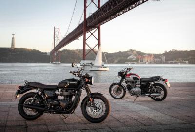 Triumph Bonneville T120 e T120 Black: il video