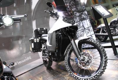 Harley-Davidson Stealth 750 ADV: pronta all'avventura!