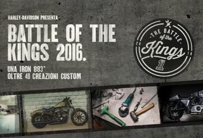 Battle of the Kings 2016: i concessionari H-D si sfidano a colpi di special