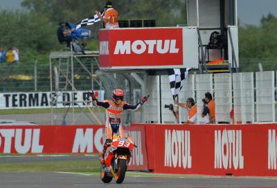 MotoGP: in Argentina vince Marquez, Rossi 2°. Disastro Iannone