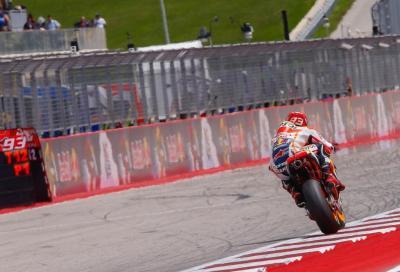 MotoGP, Austin:  la pole a Marquez. Lorenzo vicinissimo, Rossi 3°