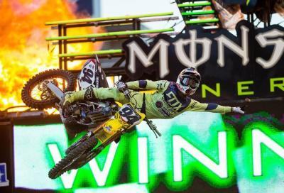 AMA Supercross 2016, Foxborough: Roczen rimanda la festa di Dungey