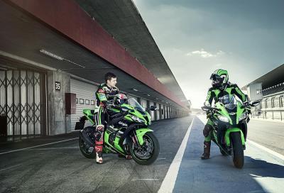 Prova la gamma Kawasaki 2016 a Imola
