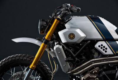 "Yamaha ""scrambler"" Yard Built XSR700 by Bunker Custom Motorcycles"