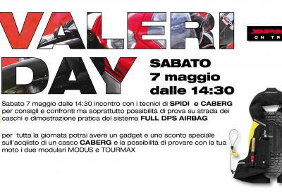 Da Valeri Sport sabato 7 maggio giornata Caberg e Spidi