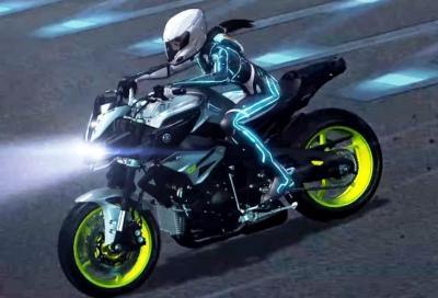 La Yamaha MT-10 protagonista di un cartone animato giapponese