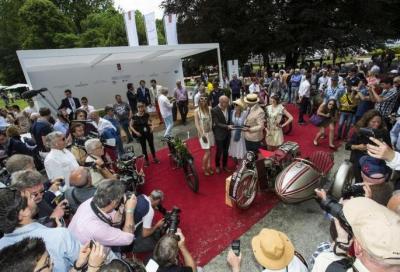 Tutto è pronto per il concorso di motociclette a Villa d'Este