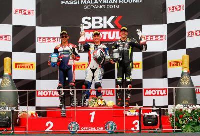 Grande vittoria di Badovini: è il re di Sepang in Supersport