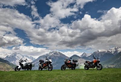 KTM supervaluta l'usato di chi acquista una Adventure 2016