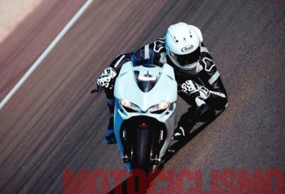 Ducati Panigale 959: on-board a Misano