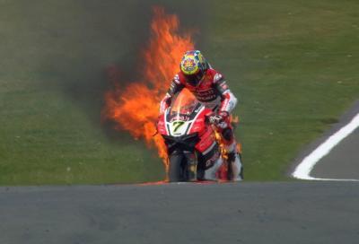 Al top le Kawasaki, Ducati a fuoco