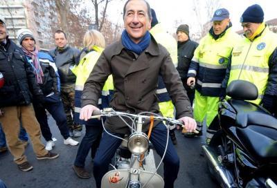 """Sala, centrosinistra: """"Area C è, e resterà, gratis per moto e scooter"""""""