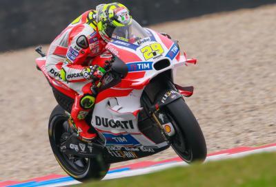 Assen, FP2: conferma Iannone, Rossi vicinissimo