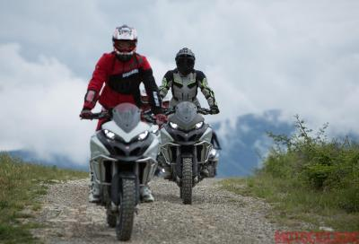 DRE Enduro: abbiamo partecipato alla scuola di fuoristrada Ducati