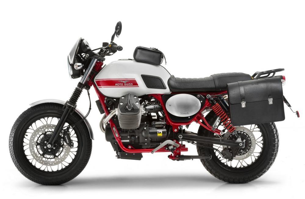 dopo imballaggio forte aliexpress Moto Guzzi V7, V9 Bobber e Roamer, California, Audace ...