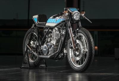 Yamaha SR400 sovralimentata: omaggio al meccanico di Rossi
