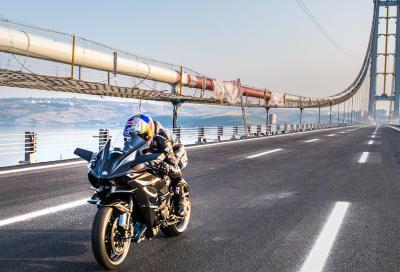 Sofuoglu a 400km/h sulla Ninja H2R: è record!