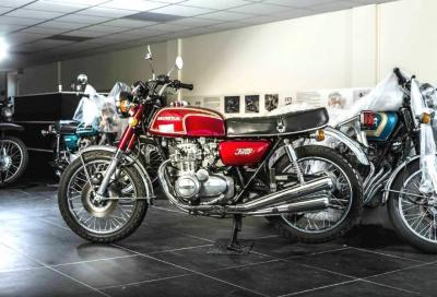 """Oltre 150 Honda d'epoca nella """"David Silver Collection"""""""