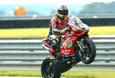 Byrne e Ducati show a Snetterton