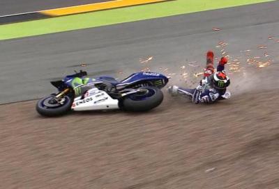 La FP1 dura solo 10 minuti, Iannone davanti, Lorenzo a terra