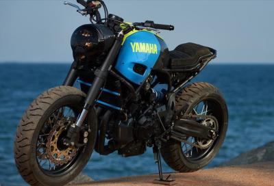 Yamaha Yard Built Otokomae, la XSR700 special ispirata ai manga